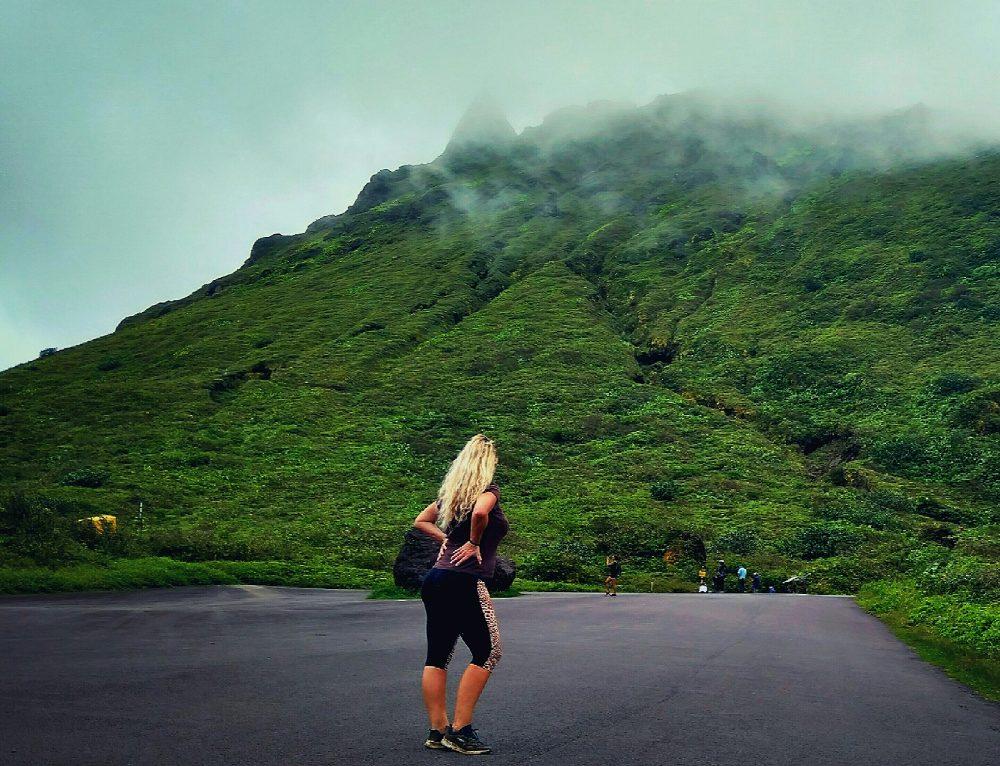 Aktívkodtunk az 1467 méteres aktív vulkánon